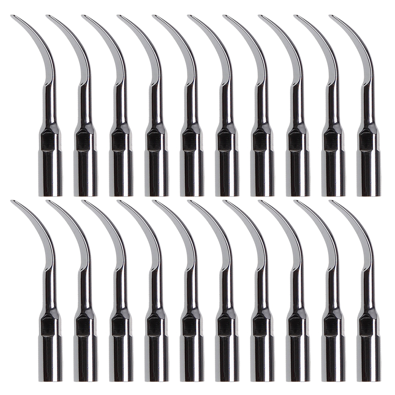 20Pcs Dental Ultrasonic Scaler Endo G2 Tips compatible EMS SKYSEA 2 sets eprks scaler prosthetics kit compatible with ems maintenance set and ems piezon master 600 premium and woodecker scalers