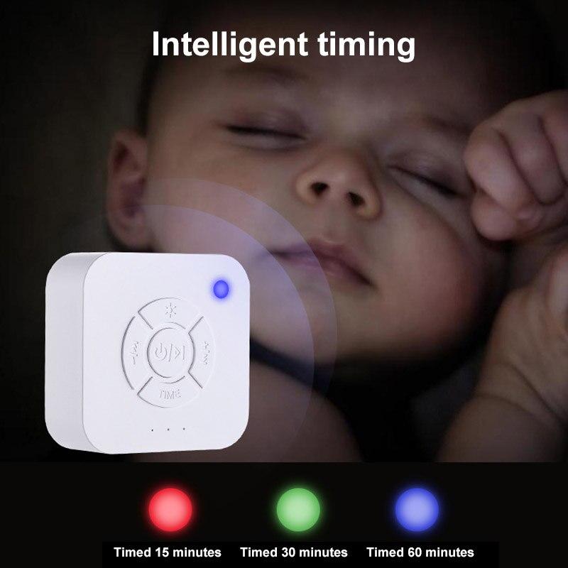 Máquina de ruido para dormir de alta calidad con sonidos naturales suaves para bebés y adultos que viaja EK-Nuevo