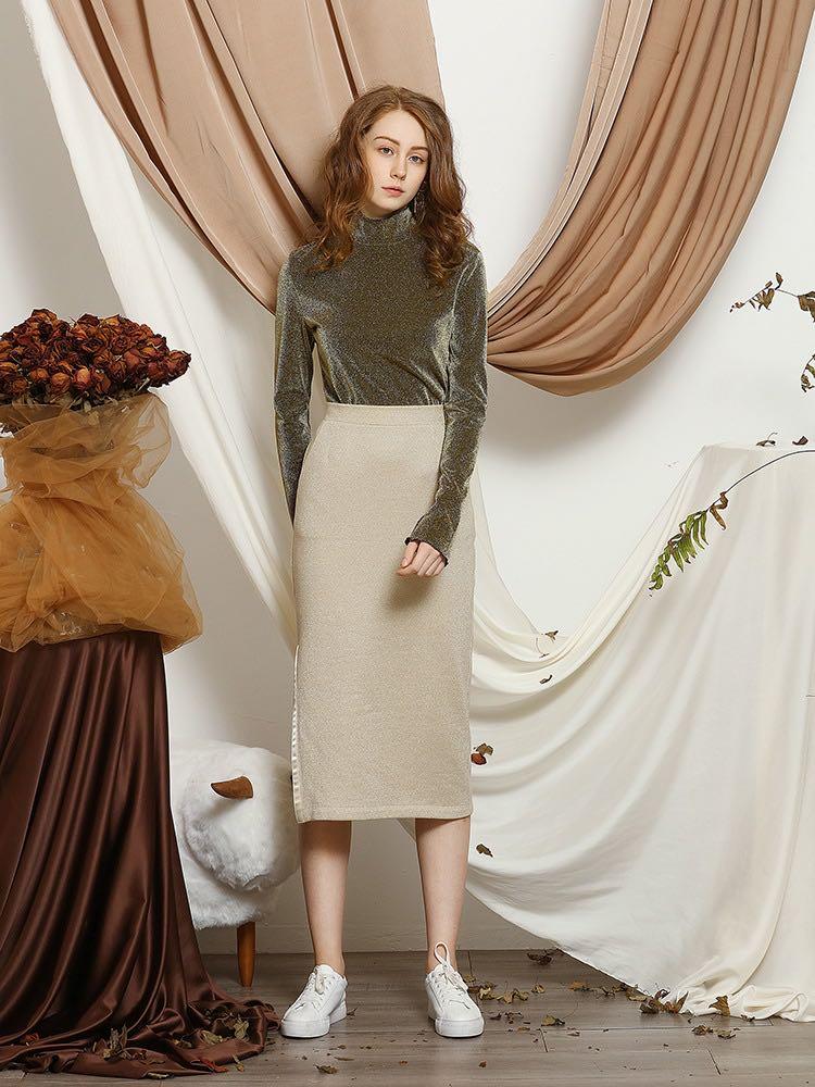Women's Elegant Split Sands Skirt