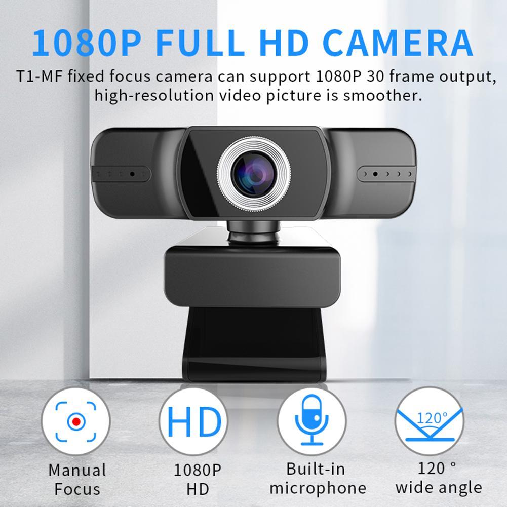 Mini Full Hd Webcam 1080p USB Web Camera High-definition Clear Camera Live Broadcast for Youtube PC MAC Computers Webcam