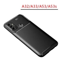case for oppo a53s a53 a33 a32 bumper cover on a 53 s 53s 33 32 protective phone coque back bag silicone matte soft tpu oppoa53s