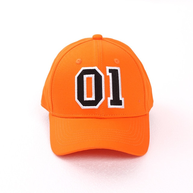 General Lee 01 Embroidered Cotton Cosplay Hat Orange Good OL' Boy Dukes Baseball Cap Adjustable 2