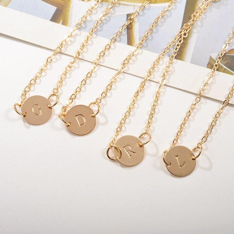 A T 26 letras moda oro rosa/plata carta de aleación pulsera con cadena de serpiente Charm pulsera homme femme personalidad joyería