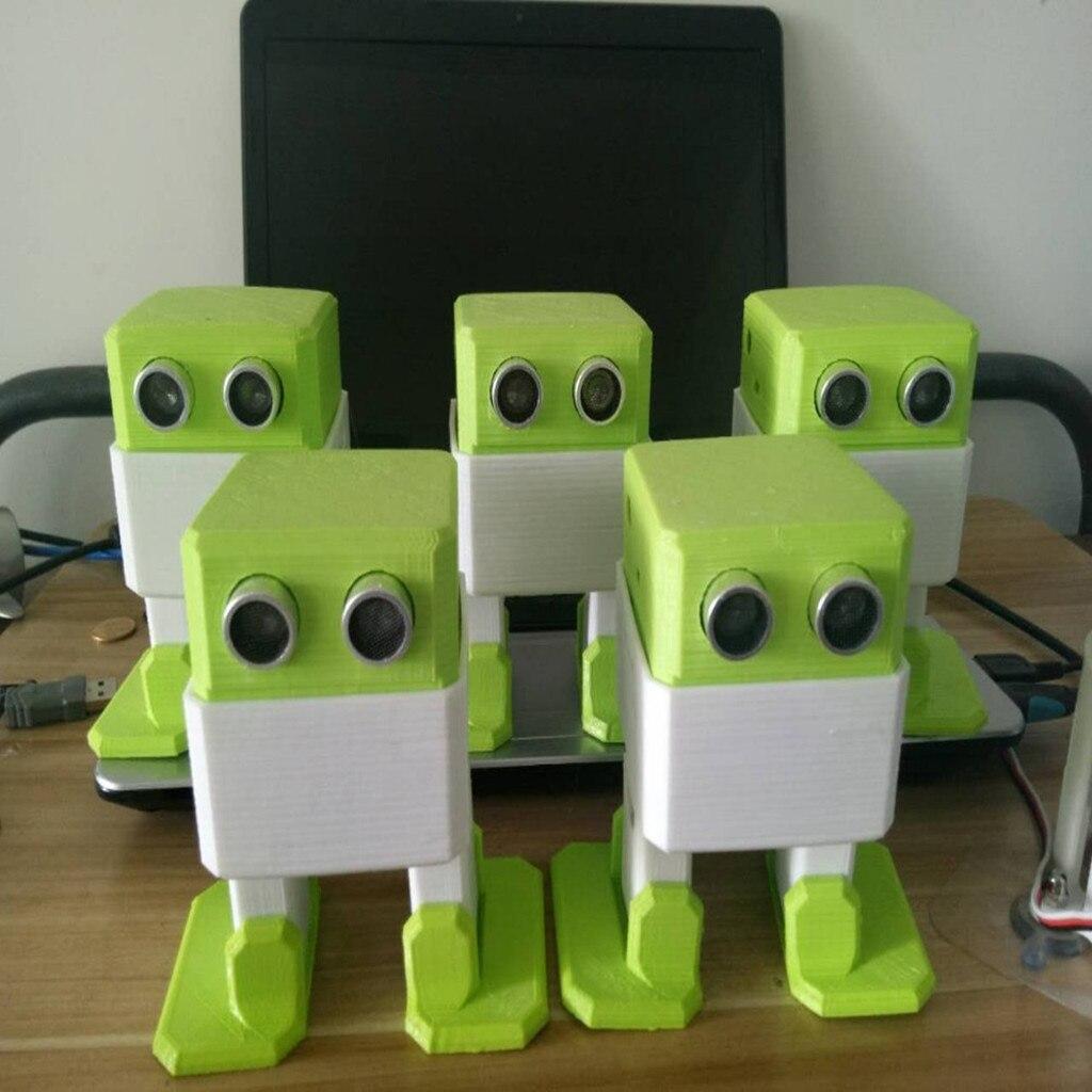 OTTO-روبوت نانو RC مفتوح المصدر ، لتجنب العقبات ، DIY ، طباعة ثلاثية الأبعاد ، لون عشوائي