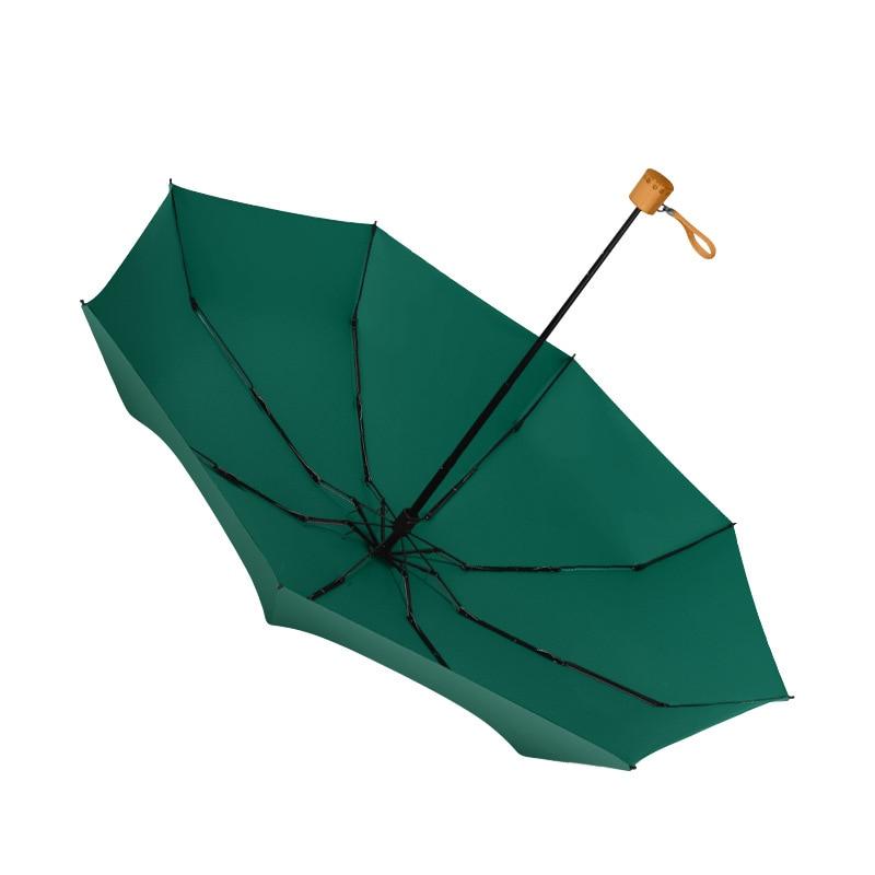 Paraguas Plegable para mujer, sombrilla de bolsillo, protección solar Anti-UV