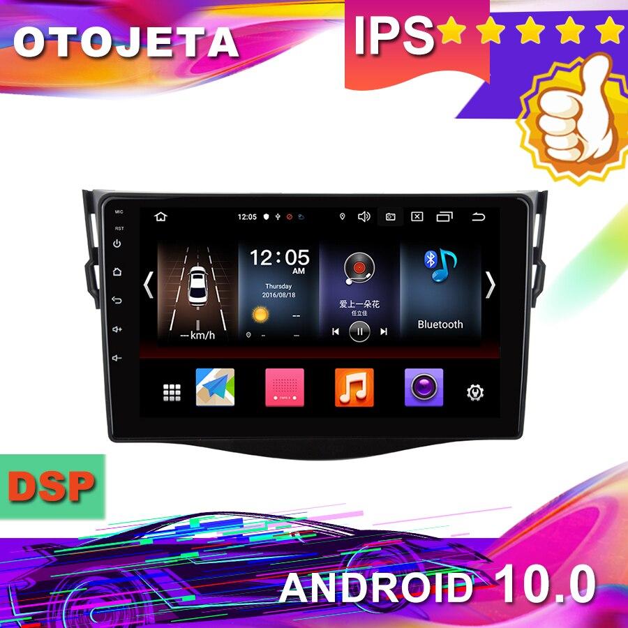 "Nueva llegada en stock, 9 ""IPS Android 10,0 GPS para coche para Toyota RAV4 2009 Radio de coche grabadora de cinta Multimedia navegación bluetooth"