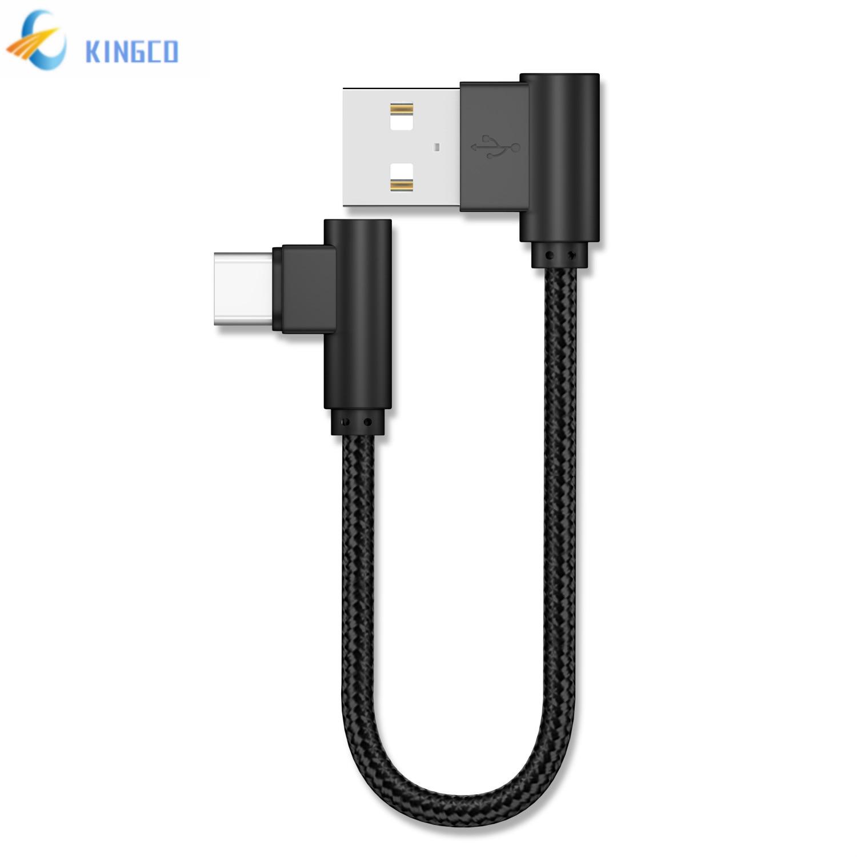 Cable USB de 20cm para iPhone tipo C, 2.4A Micro USB corto...