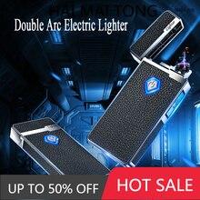 Creative cool electrolyzer-flameless plasma wind USB electrolyzer with power display smoking accesso