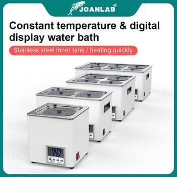 JOANLAB Laboratory Water Bath Constant Temperature LCD Digital Display Lab Equipment Thermostat Tank 6 4 2 1 Single Hole 220v