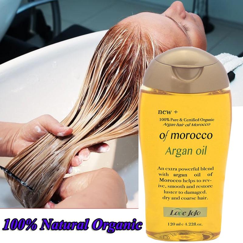 Super 120ml  100% Natural Organic Morocco Argan Oil Hair Care Scalp Essential Oil For Repairing Dry Damage Hair Treatment недорого