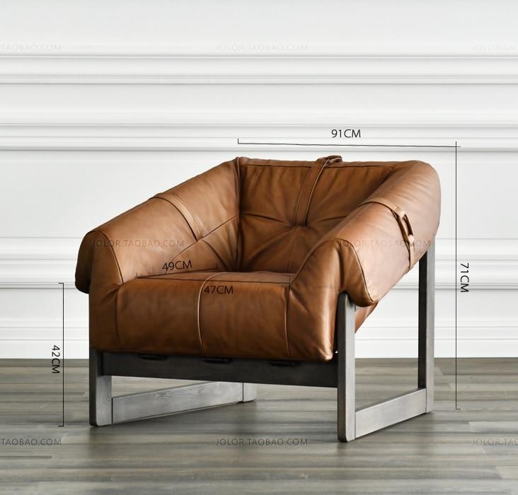 10 шт. в упаковке, диван-кресло в стиле Дания с оригинальной кожаной обивкой