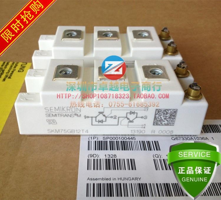 SKM75GB12T4 SKM75GB12V SKM85GB128D 2 unidad módulo IGBT -- ZYQJ