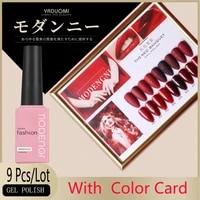 15ml gel nail red colors fashion uv gel nail polish soak off vernish semi permanent led nail polish lacquer gel polish