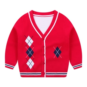 Girl Boy Sweaters Cardigan Shirt Tops Jacket Winter Autumn Long Sleeves Toddler Kids Spring Clothes Children's clothing