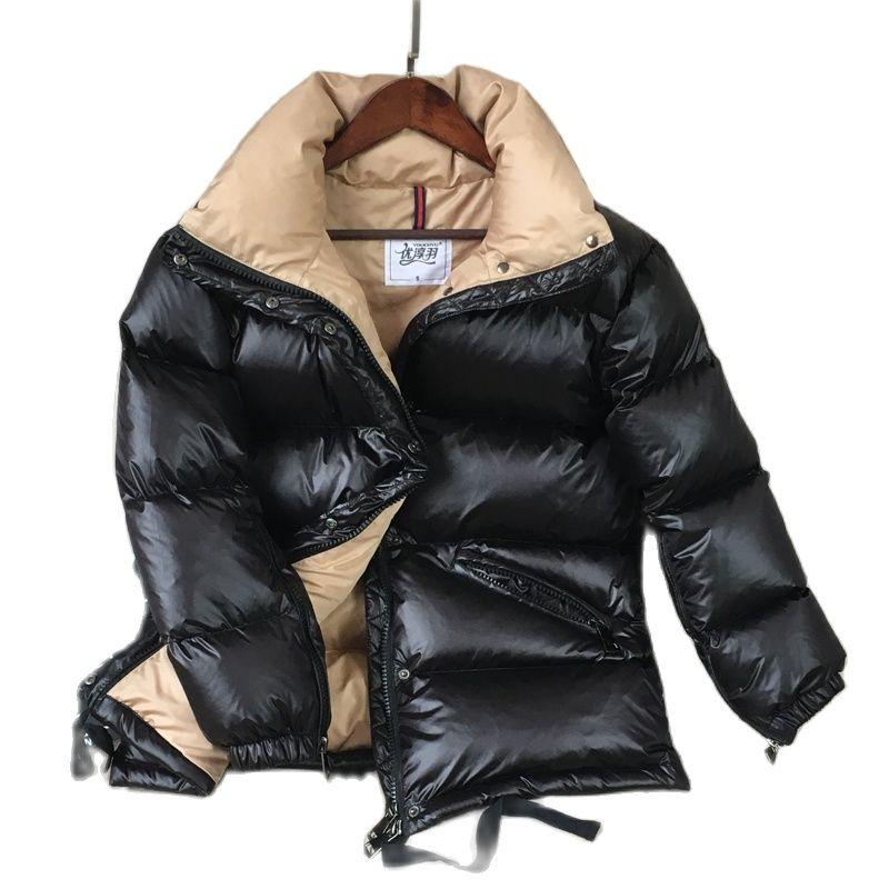 Фото - Зимний женский пуховик, плотная зимняя одежда, пуховик для девочек, теплая верхняя одежда, 50-75 кг, 160-175 см пуховик tre api размер 175 красный