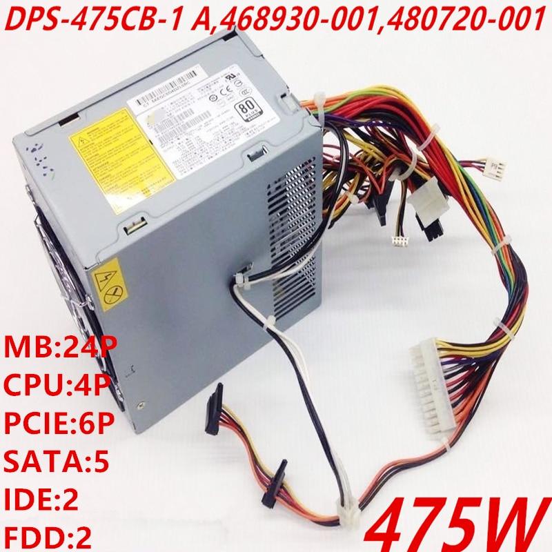 جديد الأصلي PSU ل HP Z400 XW4600 475W تحويل التيار الكهربائي DPS-475CB-1 468930-001 480720-001