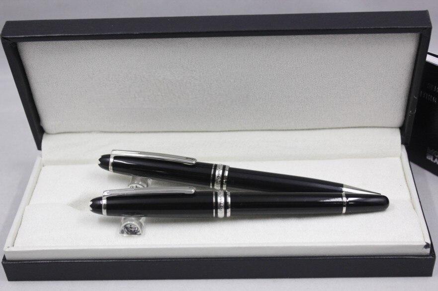 Bolígrafo De Lujo serie 163 Lun roller Venta caliente bolígrafo de regalo de color de tinta blanca
