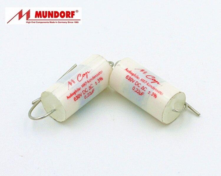 Mundorf MCAP Serie MKP 0,1 uf-330uf 250V-630V Frequenz Teiler Polypropylen Kondensator Freies Verschiffen 2 teile/los Feste kondensator