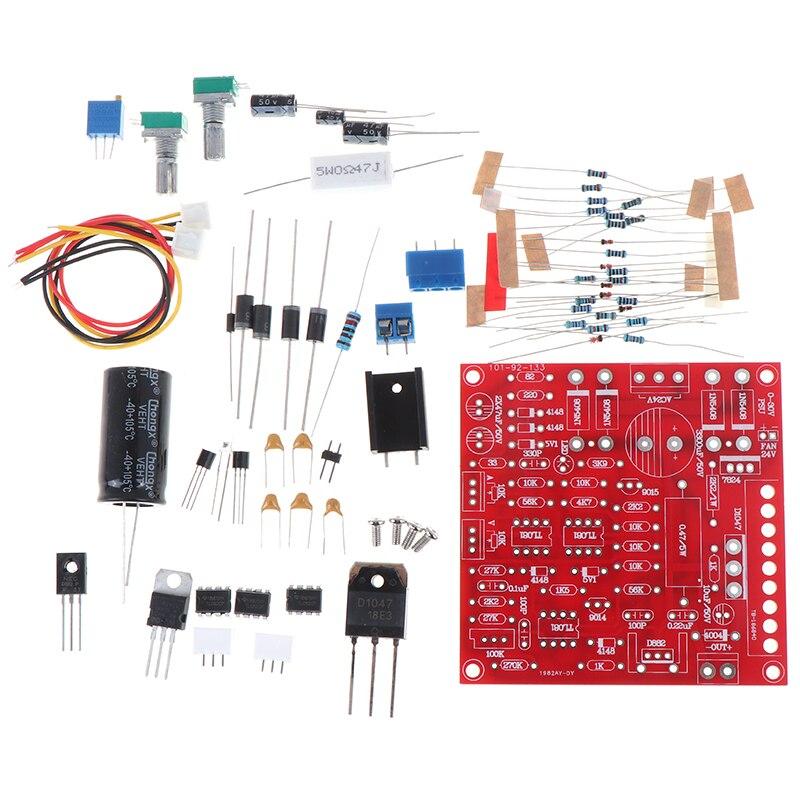 Nova chegada diy kit 0-30 v 2ma-3a dc fonte de alimentação regulada continuamente ajustável proteção de limitação de corrente