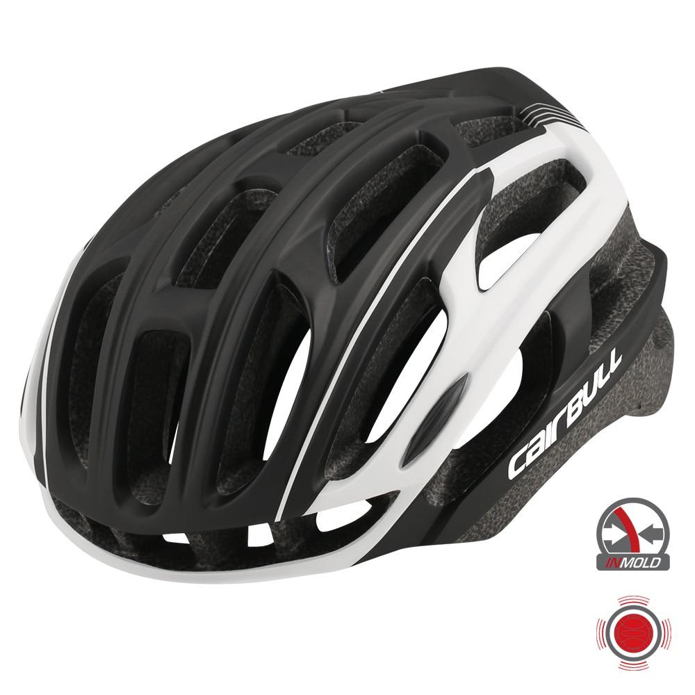 Casco de seguridad en bicicleta de montaña Cairbull 4D PLUS 2020 con luz trasera y accesorios para bicicleta