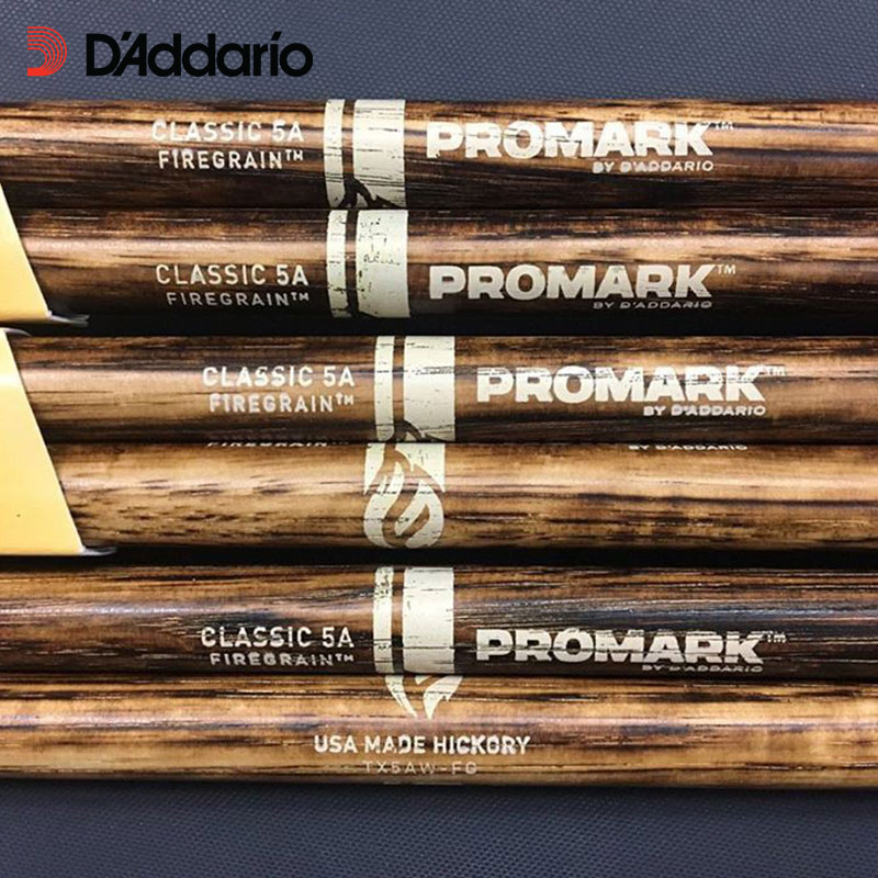 Promark FireGrain American Hickory Drumsticks - Classic or Forward / Rebound Selected Balance System 5A/5B/7A, made in USA enlarge