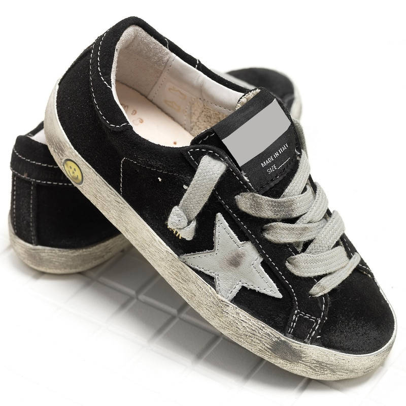 Autumn New Parent-Child  Products Black Ox Velvet Children Retro Old Small Dirty Boys/Girls Casual Kids Fashion Board Shoes QZ11 enlarge