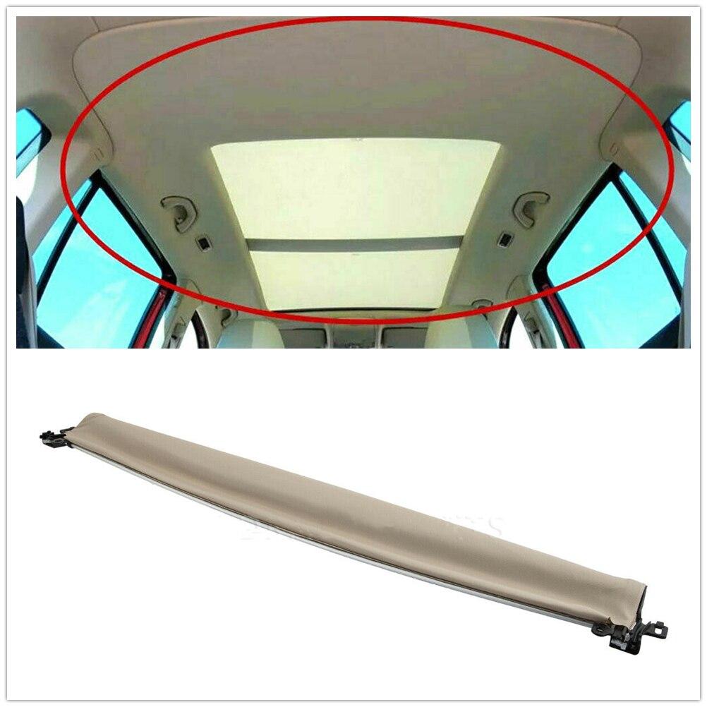 1 قطعة غطاء فتحة سقف نافذة الستار الجمعية ل Volkswagen بورش كايين 2012-2018 البيج الحاجب اللفاف ظلة واق شمسي