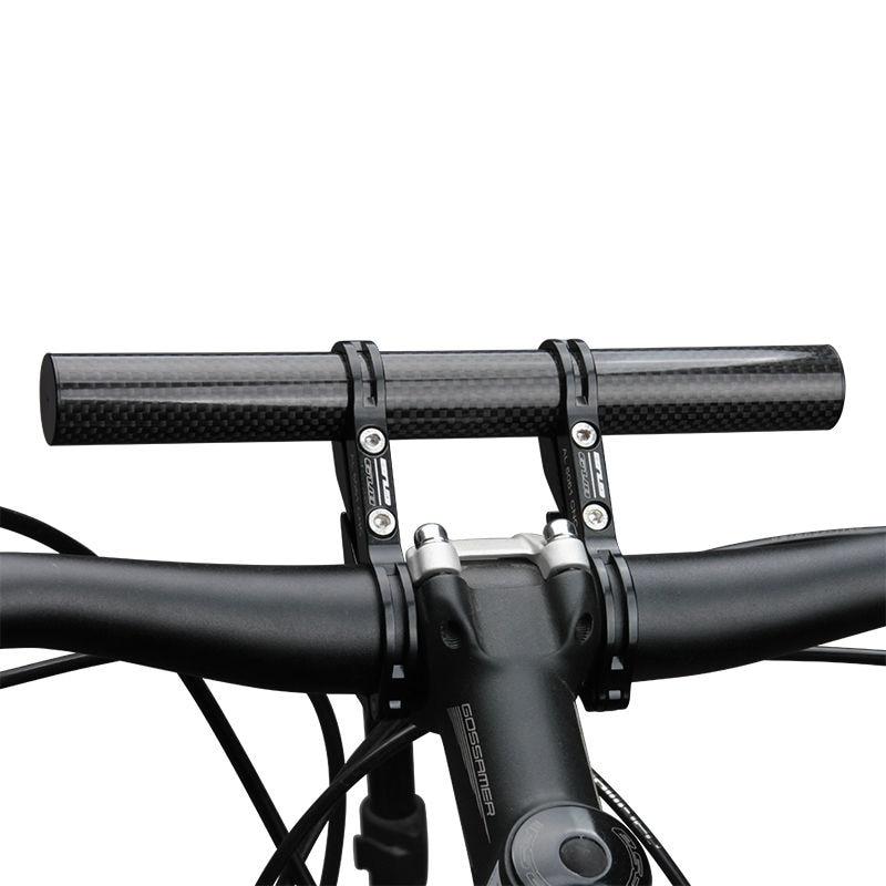 GUB 202 углеродное волокно, держатель для руля велосипеда 20 см, супер длинный велосипедный светильник, держатель для телефона, крепление для ла...