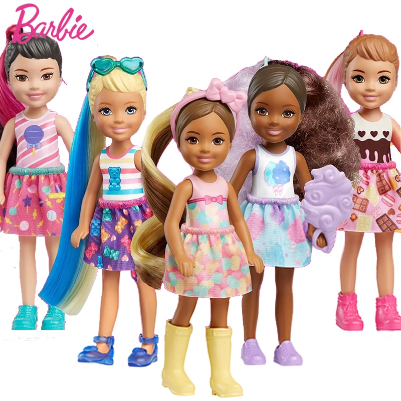 Original Barbie Color Reveal Doll Fairytale Boneca Makeup Toys for Children Girls  Accessories Baby Blind Box
