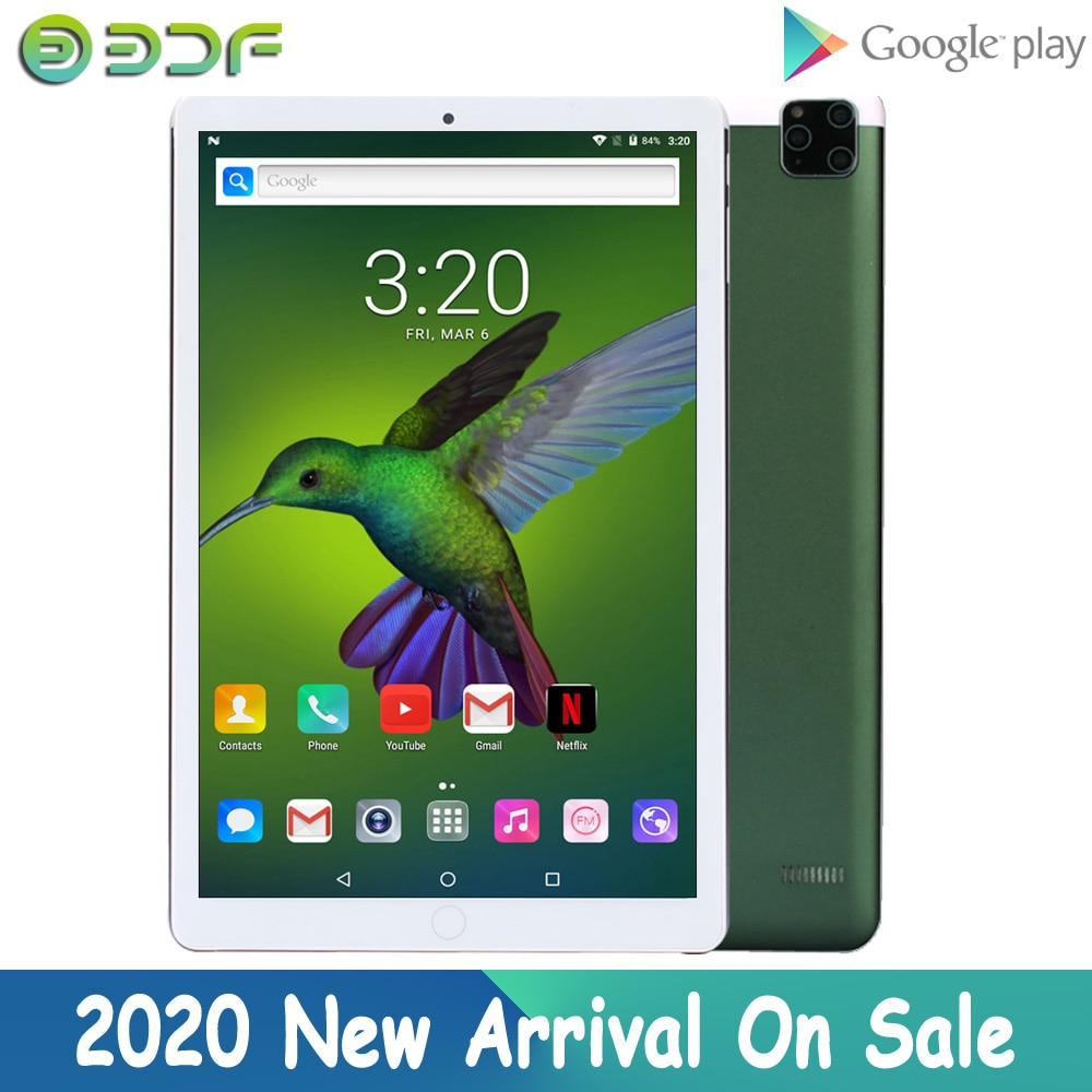 New Original 10 Inch 3G Phone Call GPS Tablet PC Android 7.0 tab WiFi IPS 10.1 Inch Kids Phablets Dual SIM Card 32GB OTG Tablets