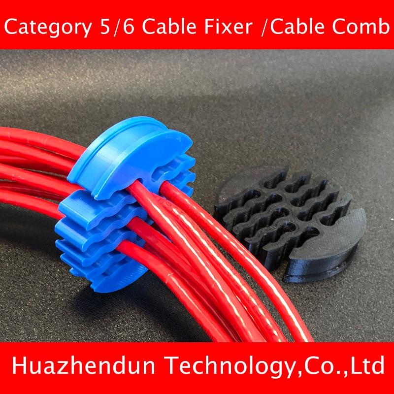مشط سميك لكابلات الشبكة من الفئة 5 و 6 ، أداة ترتيب الأسلاك لغرفة الكمبيوتر