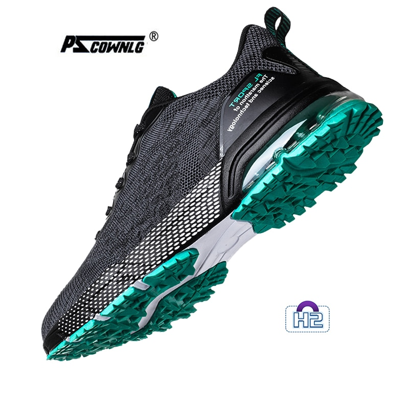 Men Trail Running Shoes Outdoor Cushioning Sole Big Size 38-46 Trainers Male Breathable Athletic Footwear Golf shoes FL2932 H2