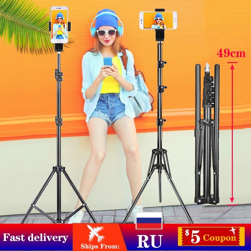AliExpress - Orsda Metal Tripod Photography Light Stand Mobile Smartphone Stable Shooting Professional for Tik Youtube Tiktok Tok Vlog Live