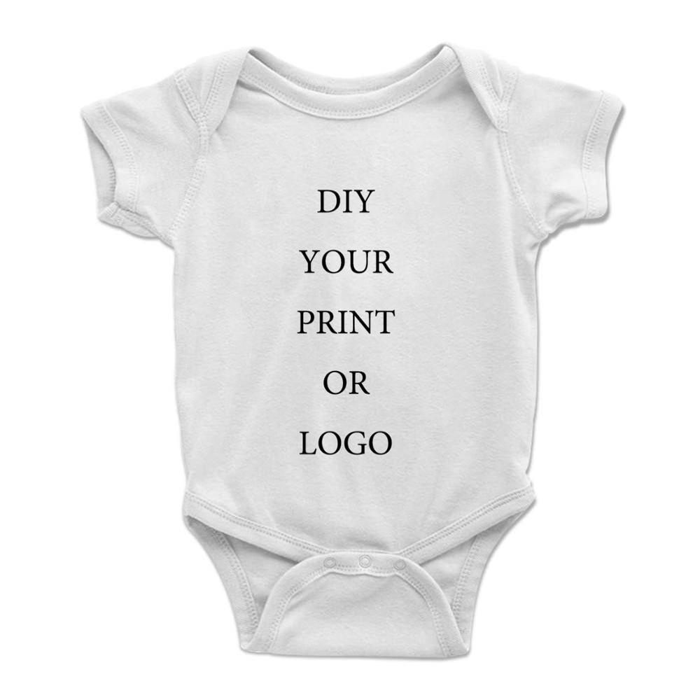 Индивидуальная Одежда для новорожденных на заказ, детское боди, одежда для маленьких девочек и мальчиков, детский комбинезон, боди для дево...
