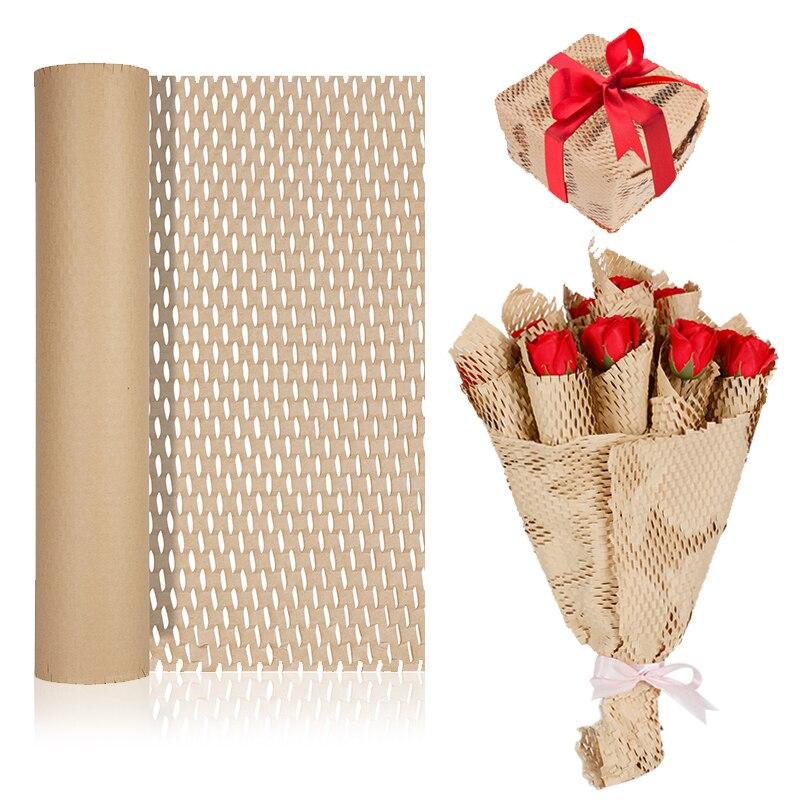 Крафт-бумага для цветов, сотовая бумага, декоративный подарок ручной работы, упаковочный материал, день рождения, вечеринка, домашняя упако...