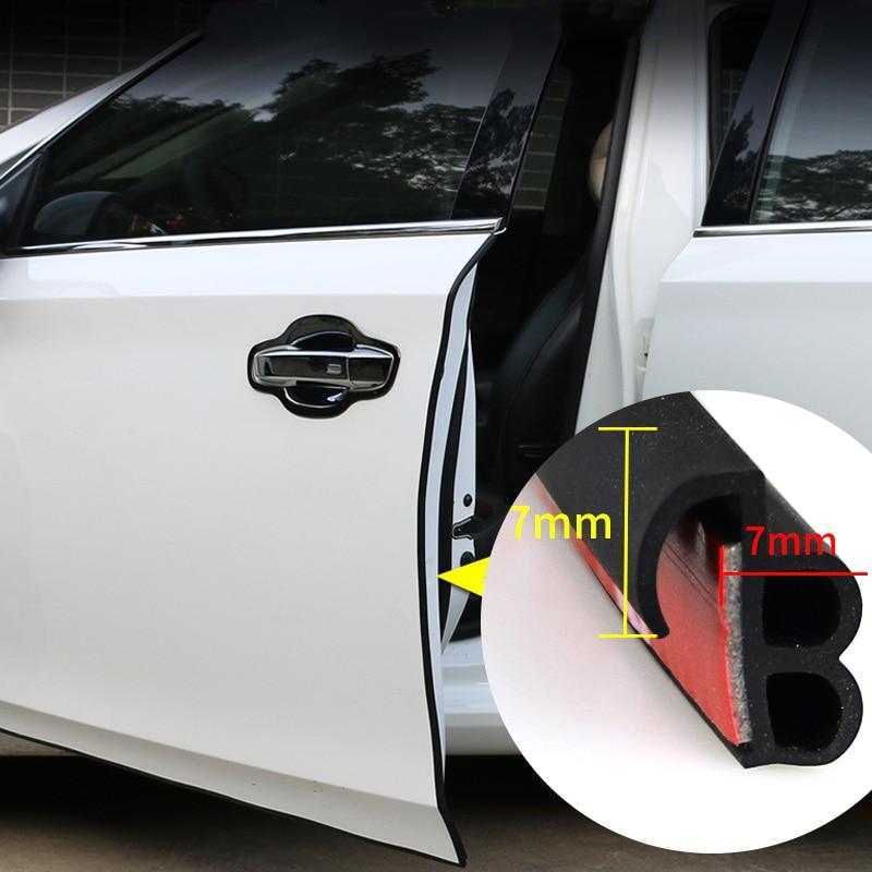 Автомобильная дверь резиновые уплотнительные полоски Авто двухслойные уплотнительные наклейки для двери БАГАЖНИКА АВТОМОБИЛЯ изоляционн...