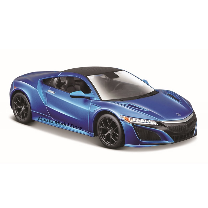 Maisto 1:24 2018 ACURA NSX edition Highly-detailed die-cast precision model car Model collection gift