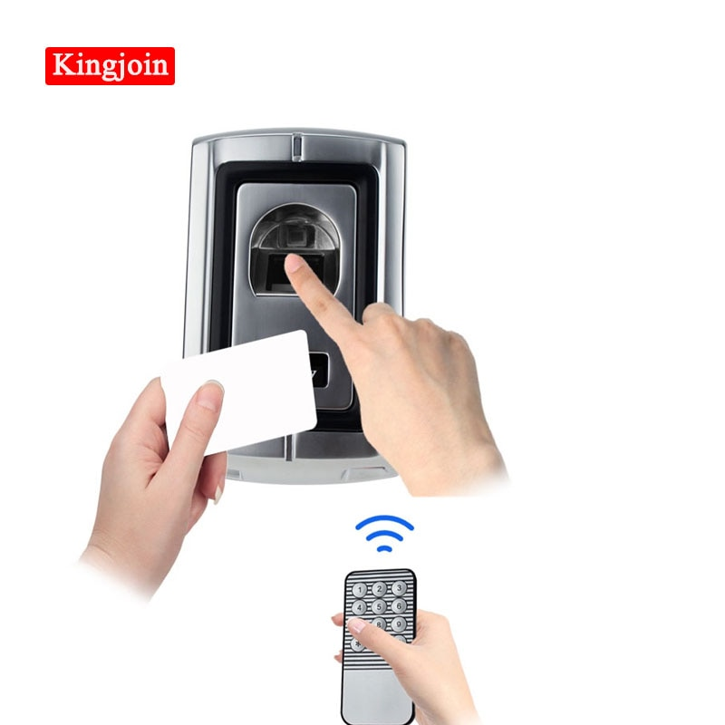 125KHz RFID Fingerprint Scanner Without Keypad Door Locks with Metal Case Fingerprint Access Control Controller Can Reader Cards sk3 ii direct factory pulse mode and toggle mode door access controller with wireless keypad
