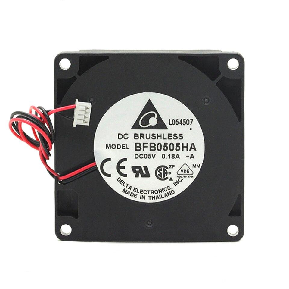 Para VENTILADOR DE BFB0505HA-A de 50mm, 5V, 0,18 a, 5010, ventilador de turbina lateral de 5 CM/cm