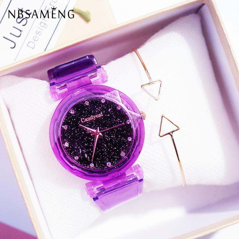 Watches For Women Bracelet Unisex Simple Fashion Number Watches Quartz Canvas Belt Wrist Watch Clock
