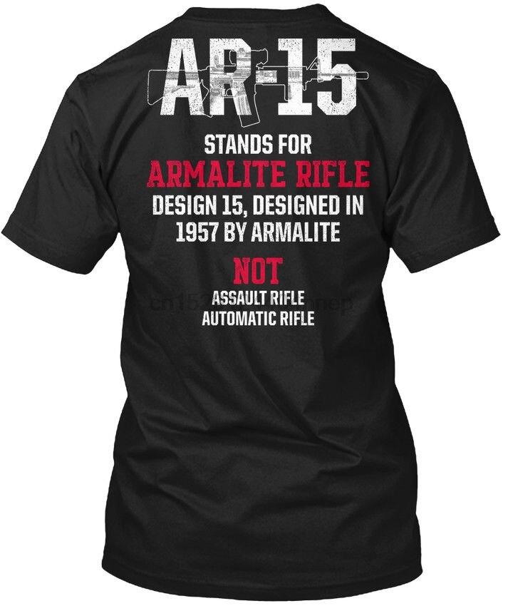 Patriótico Ar15 V5 M 0019-Ar-15 Stands Para Armalite Popular Tagless T-Shirt Tee