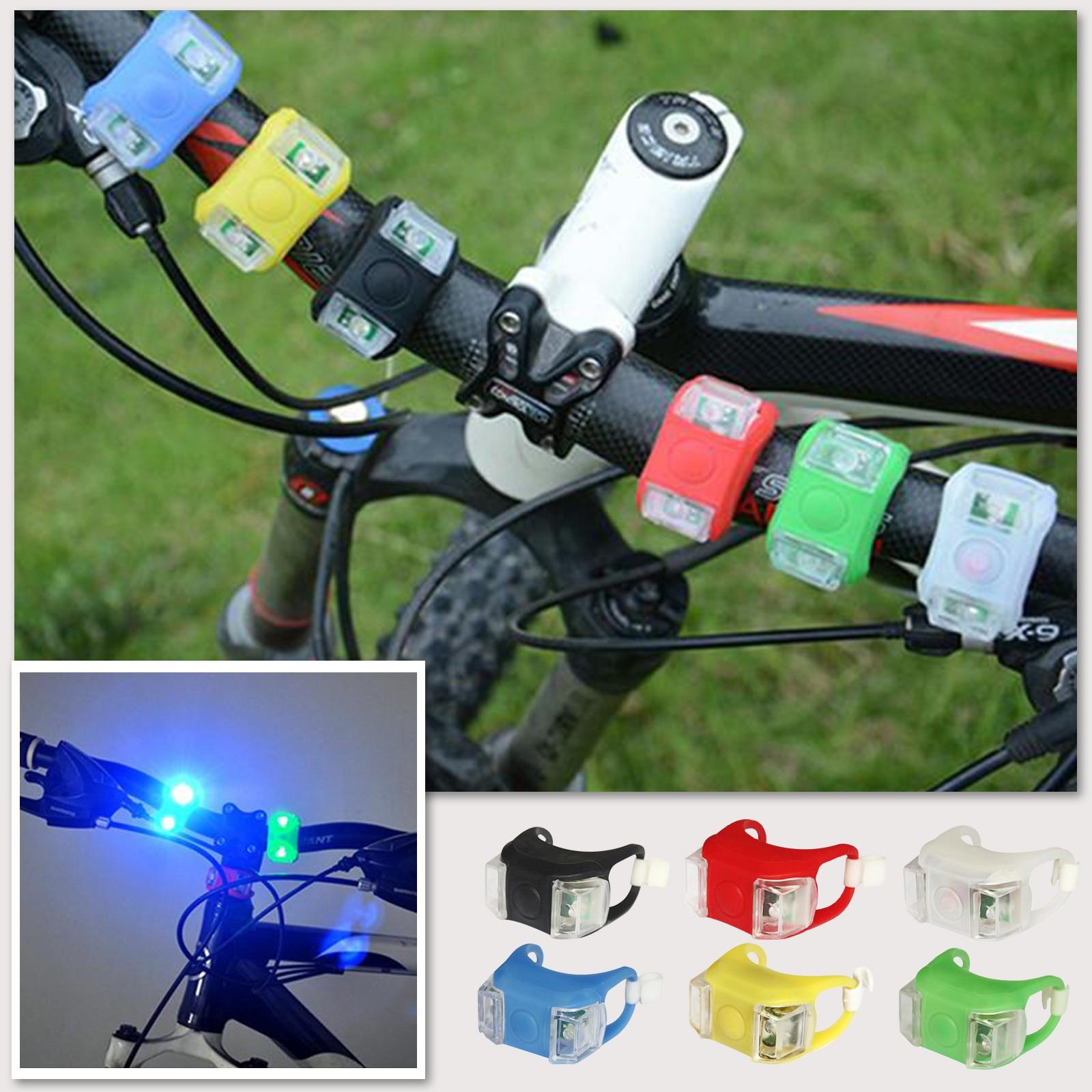 Luces Led Binocular para bicicleta de montaña, accesorios para bici