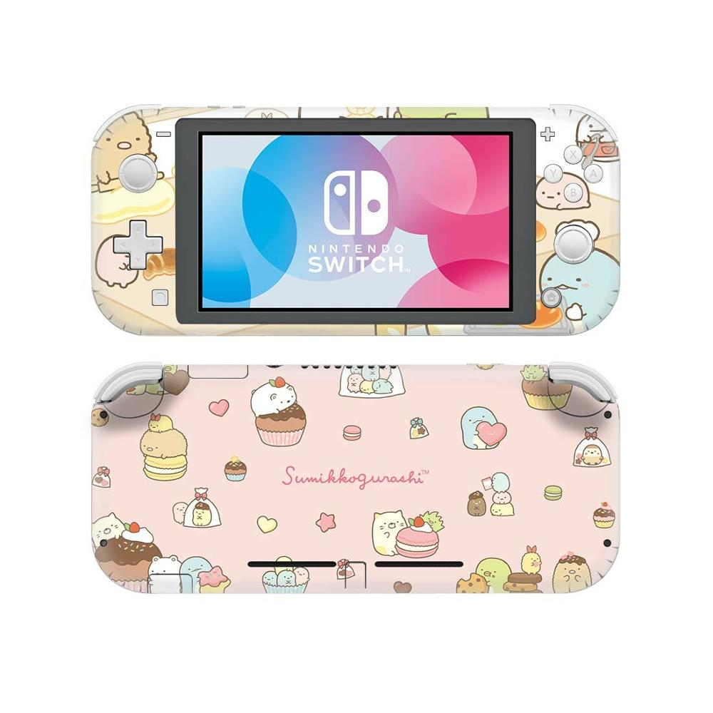 Sumikko Gurashi-ملصق لجهاز Nintendo Switch Lite ، ملصق حماية الجلد ، لجهاز Nintendo Switch Lite