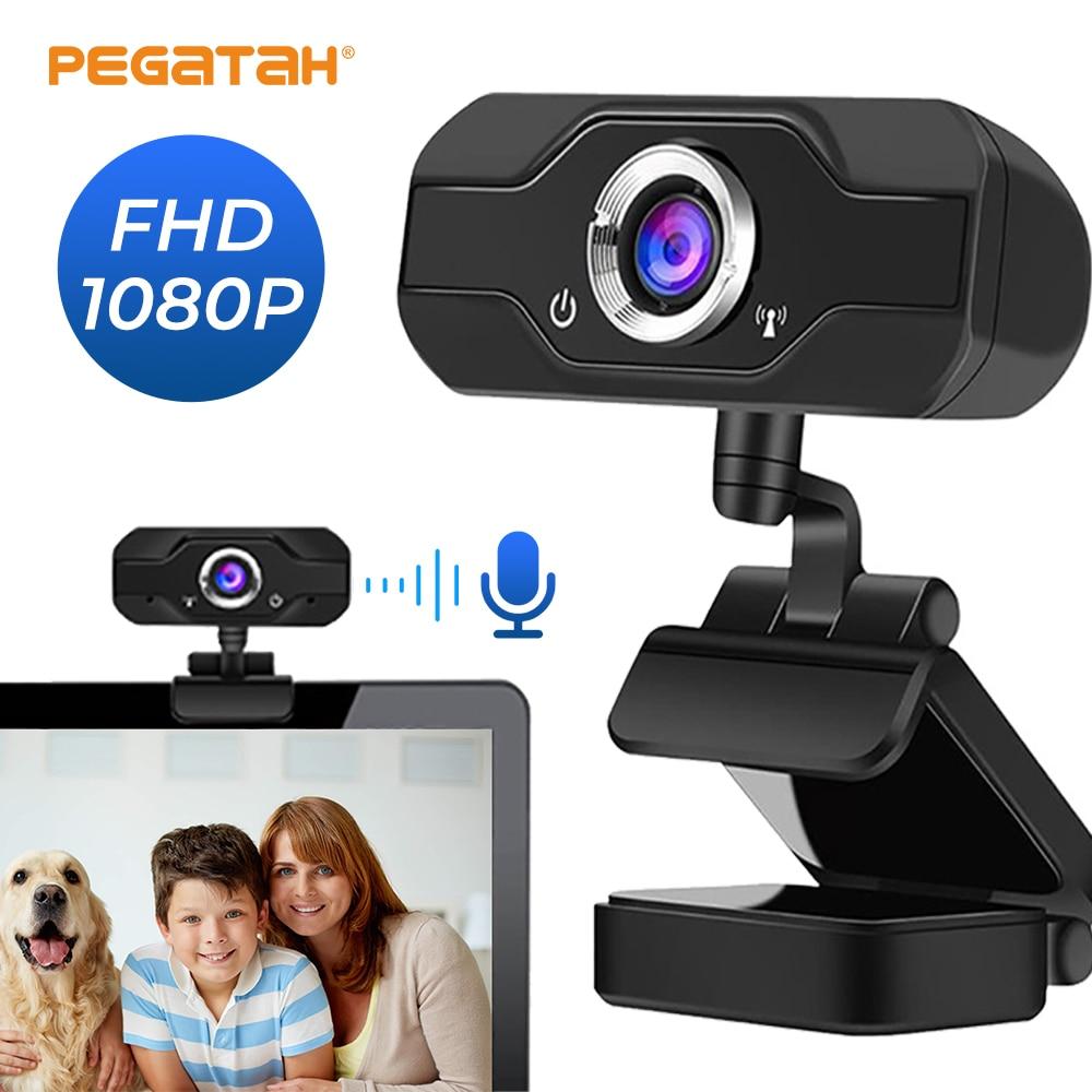 Фото - веб камера 1080 p веб камера с микрофоном мини камера вебкамера для пк Веб-камера веб-камера 1080p full hd для пк компьютер ноутбук usb веб-камера с мик... веб камера