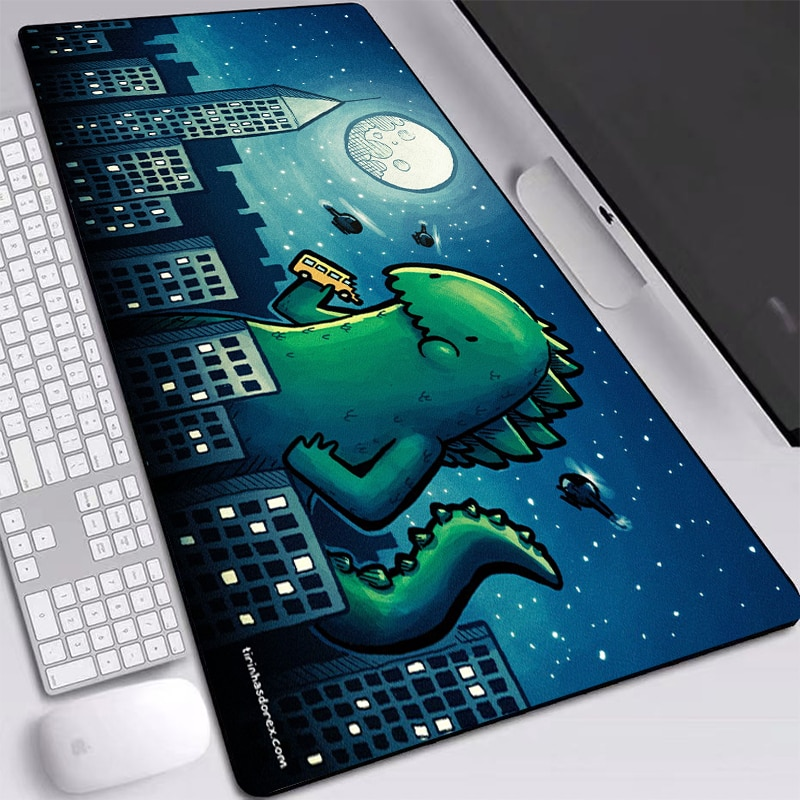Cute Cartoon Mouse Pad Gamer Desk Mat Large M L XL XXL Computer Gaming Peripheral Accessories Mouse Pad Mat for Child and Adult