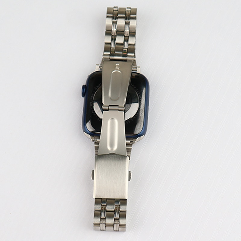 for apple watch band 44mm 40mm 38mm 42mm metal bracelet stainless steel strap for apple watch series se 6 5 4 3 2 1 watchband Stainless Steel Strap For Apple watch band 38mm 42mm Metal WatchBand 40mm 44mm Sport Bracelet for iWatch series 6/SE/5/4/3/2/1