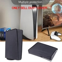 newest dustproof cover for ps5 game console washable dust proof cover protector for playstation 5 ps5 games gaming accessories