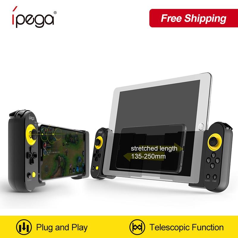 IPega PG-9167 ل iOS الروبوت الهاتف المحمول/PC/قرص ل PUBG ألعاب bluttoth اللاسلكية غمبد لمط لعبة تحكم