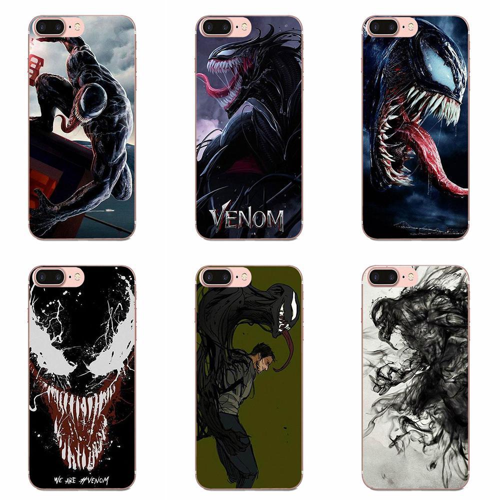 Venom 2018 Film Mcu Diy Printing Drawing For Samsung Galaxy Note 8 9 10 Pro S4 S5 S6 S7 S8 S9 S10 S11 S11E S20 Edge Plus Ultra