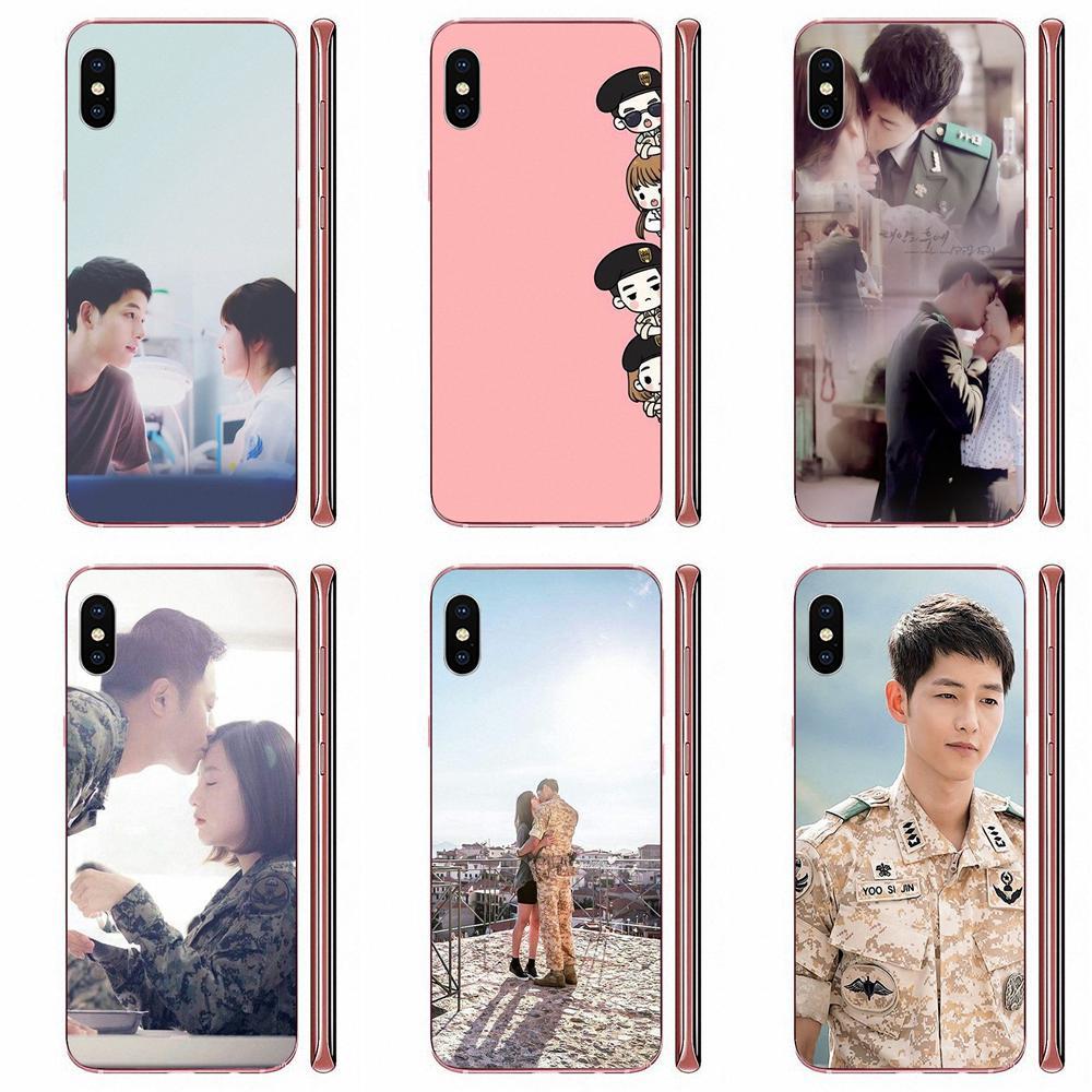 Drama coreano de los descendientes de Sol para Galaxy A81 A71 A51 A01 S11 S20 Plus Ultra Nota 10 Lite M60s M30S A70 A50 A20E A10S